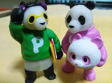 熱烈歓迎パンダ氏