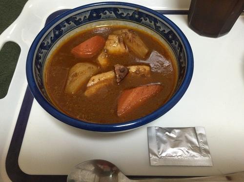 スープカレー 盛り付け