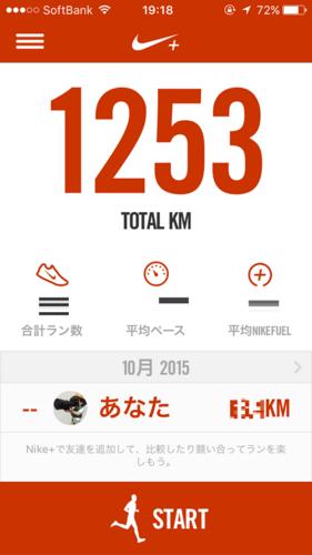 現時点で1,253km
