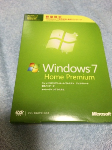 Windows7 Home Premium(パッケージ版)