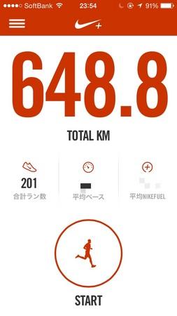 とりあえず今年に入って150km突破